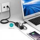 Адаптер Dynamode USB 3.1 Type-C - RJ45 з 3-портовим хабом USB 3.0 (USB3.1-TypeC-RJ45-HUB3) - зображення 7