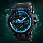 Чоловічий спортивний кварцовий годинник Skmei Hamlet Blue 1155B - изображение 4
