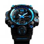 Чоловічий спортивний кварцовий годинник Skmei Hamlet Blue 1155B - изображение 6