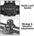 Оптический прицел Barska Tactical 1.5-4.5x20mm FFP (Mil-Dot) + кольца (925765) - изображение 3