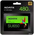 "ADATA Ultimate SU650 480GB 2.5"" SATA III 3D NAND TLC (ASU650SS-480GT-R) - зображення 2"