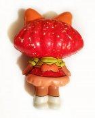 Сквиш лялечка Лол червона - 13 см / LOl Doll squishy / Сквуши / Іграшка-антистересс - зображення 2