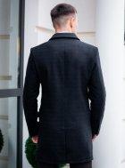 """Чоловіче демісезонне пальто PB """"Batya2"""" Чорне L - зображення 9"""