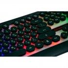 Клавіатура для ігр з RGB-підсвіткою + мишка HK3970, ігровий набір (VS7003633) - зображення 3