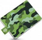Накопичувач зовнішній SSD USB 500GB Seagate One Touch Camo Green (STJE500407) - зображення 4