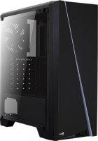Корпус Aerocool Cylon BG RGB Tempered Glass Black - зображення 2