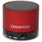 Акустична система OMEGA Bluetooth OG47R red (OG47R) - зображення 1