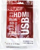 Кабель ExtraDigital DisplayPort to HDMI 30AVG 4Kx2K 1,8 м (KBH1747) - зображення 4
