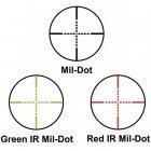 Прицел оптический Barska GX2 6-24x50 (IR Mil-Dot R/G) - изображение 5