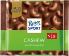 Шоколад Ritter Sport Nut Selection молочный с цельными орехами кешью 100 г (4000417707000) - изображение 1