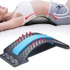 Тренажёр для спины Magic Back для самостоятельного занятие спортом Черный (MP-001) - изображение 1