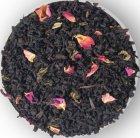 Бленд черного и зеленого чая Lovare Merry Christmas с лепестками розы и ароматом вишни и шелковицы 100 г (4820097818038) - изображение 2