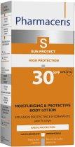Увлажняющая солнцезащитная эмульсия для тела Pharmaceris S Sun Body Protective Sun Lotion for the Body SPF 30 150 мл (5900717149212) - изображение 2