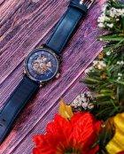 Мужские классические механические часы Oubaer Night Blue 8902 - изображение 9