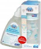 Набір Canpol babies Пляшка з широким отвором In the Clouds 240 мл Синя + Рідина для миття пляшок і сосок 500 мл (0226_ua) - зображення 1