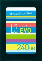 "Team L3 EVO 240GB 2.5"" SATAIII TLC (T253LE240GTC101) - изображение 1"