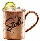 Набор для коктейля Stoli Mule Stolichnaya 1 л 40% 2 шт + Ginger Beer Stoli 0,25 л х 24 шт + кружка Stoli Mule (4750021500114) - изображение 2