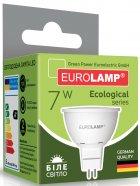 Світлодіодна лампа EUROLAMP SMD MR16 7 W GU5.3 4000 K (LED-SMD-07534(P)) 2 шт. - зображення 3
