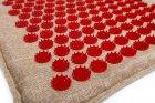 Массажный коврик (аппликатор Кузнецова) Lounge Medium 68*42 см Красный - изображение 2