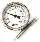 Термометр Watts TAB 63/120 (F+R810 TCM 63mm 0-120°C) накладної - зображення 1