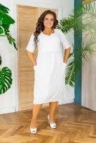Платье ALDEM 2008 54 Белое (2000000442488_ELF) - изображение 1