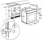 Духовой шкаф электрический AEG BER455120M - изображение 20