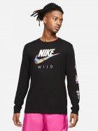 Лонгслів Nike M Nsw Tee Ls Wild Futura DB6137-010 M (194502443745) - зображення 1