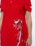 Платье All Posa Карина 100139 54 Красное - изображение 3