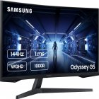 "Монітор 31.5"" Samsung Odyssey G5 LC32G55T Black (LC32G55TQWIXCI) - зображення 2"