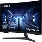 "Монітор 31.5"" Samsung Odyssey G5 LC32G55T Black (LC32G55TQWIXCI) - зображення 3"