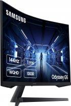 "Монітор 31.5"" Samsung Odyssey G5 LC32G55T Black (LC32G55TQWIXCI) - зображення 4"