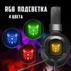 Игровые наушники Onikuma K3 с микрофоном и RGB подсветкой проводные Black (K3) - изображение 7