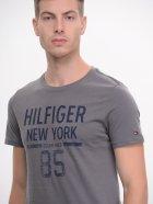Футболка Tommy Hilfiger 9166.1 S (44) Серая - изображение 4