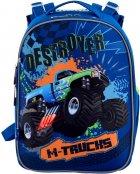 Рюкзак школьный YES H-25 мужской 0.85 кг 28x37x16 см 15 л M-Trucks (556187) - изображение 2