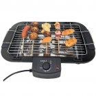Гриль барбекю шашлычница электрический для дома и дачи 48x29,5см BaBaLe 2000Вт Черный - изображение 1