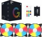 Набор 1STPLAYER RGB-вентиляторов Firebase G1 RGB Combo - изображение 8