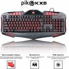 Клавіатура дротова Piko KX5 USB (1283126489600) - зображення 2