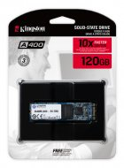 Kingston SSD SSDNow A400 120GB M.2 2280 SATAIII TLC (SA400M8/120G) - зображення 3