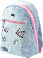 Рюкзак молодежный YES T-94 Tusa женский 0.5 кг 30x42x15 см 19 л Голубой (558471) - изображение 2