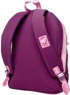 Рюкзак молодежный YES T-94 Tusa женский 0.5 кг 30x42x15 см 19 л Сливовый (558469) - изображение 3