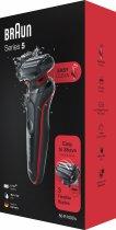Електробритва BRAUN Series 5 50-R1000s BLACK/RED - зображення 8