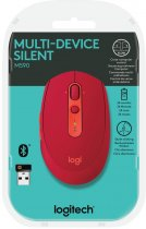Миша Logitech M590 Wireless Bluetooth Multi-Device Silent Ruby (910-005199) - зображення 4