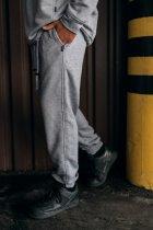 """Штаны Мужские Intruder 'Stroper"""" Oversize осеннее весеннее летнее спортивные брюки серые XXL-XXXL - изображение 2"""