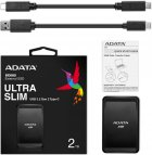 "ADATA SC685 2TB 2.5"" USB 3.2 Type-C 3D NAND TLC Black (ASC685-2TU32G2-CBK) External - зображення 5"