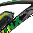 Электровелосипед TRINX E-Bike X1E 17 Matt-Black-Green-Blue (X1EMBGB) - изображение 4