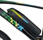 Электровелосипед TRINX E-Bike X1E 17 Matt-Black-Green-Blue (X1EMBGB) - изображение 5