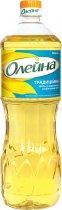 Масло подсолнечное Олейна Традиционная рафинированное 850 мл (4820001115567_4820077083760) - изображение 1
