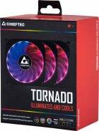 Набор Chieftec RGB-вентиляторов Tornado 3in1 (CF-3012-RGB) - изображение 9