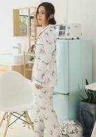 Пижама женская Bow Berni Fashion (M) Белый (55124) - изображение 2