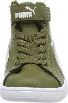 Черевики Puma Smash v2 Mid L Fur V PS 33 (1) 20 Burnt Olive-Puma White (4060979931084) - зображення 4